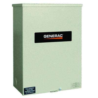 100 Amp Service Rated 120/240 Single Phase NEMA 3R Smart Transfer Switch