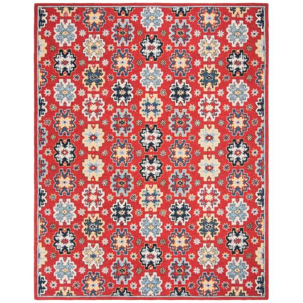 Safavieh Heritage Red Blue 6 Ft X 9