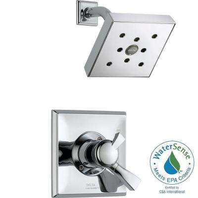 Dryden 1-Handle H2Okinetic Shower Only Faucet Trim Kit in Chrome (Valve Not Included)