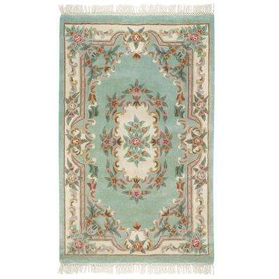 Imperial Light Green 9 ft. x 12 ft. Area Rug