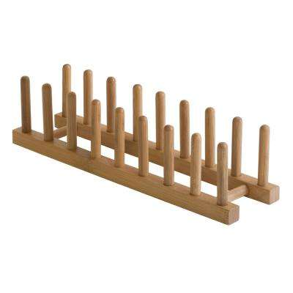 Bamboo Plate Rack/Pot Lid Holder