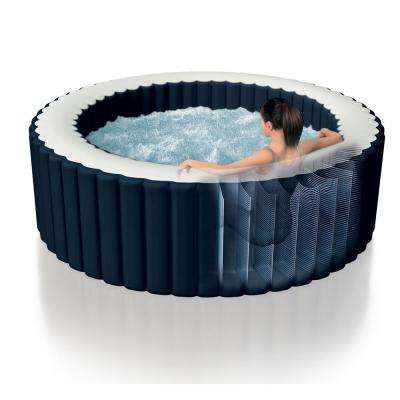Pure Spa Inflatable 4-Person Hot Tub with S1 Filter Cartridges (12-Pack)