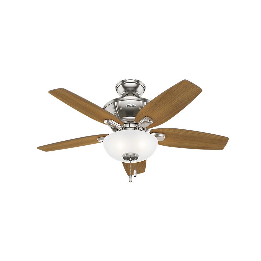 Kenbridge 42 in. LED Indoor Brushed Nickel Ceiling Fan