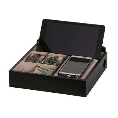 Rory Java Finish Wooden Charging Valet