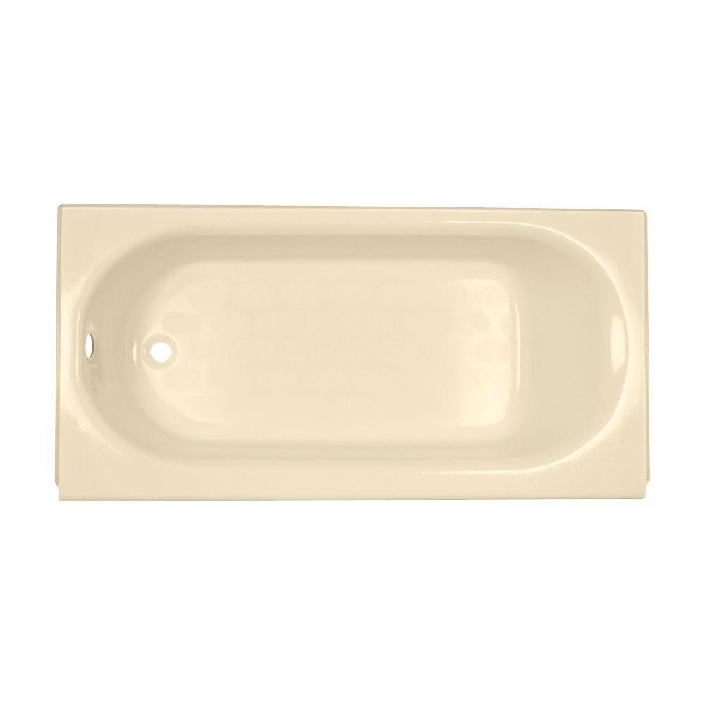 Princeton 5 ft. Americast Left-Hand Drain Bathtub in Bone
