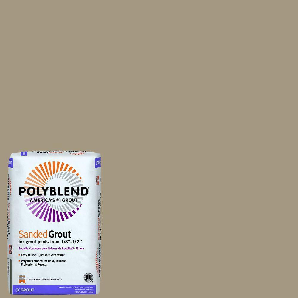Custom Building Products Polyblend #135 Mushroom 25 lb. Sanded ...