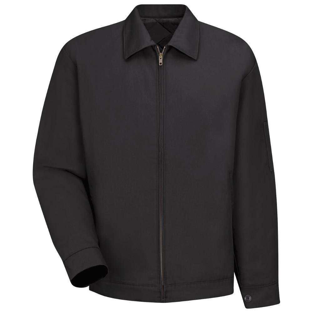 Men's Size 3XL (Tall) Black Slash Pocket Jacket