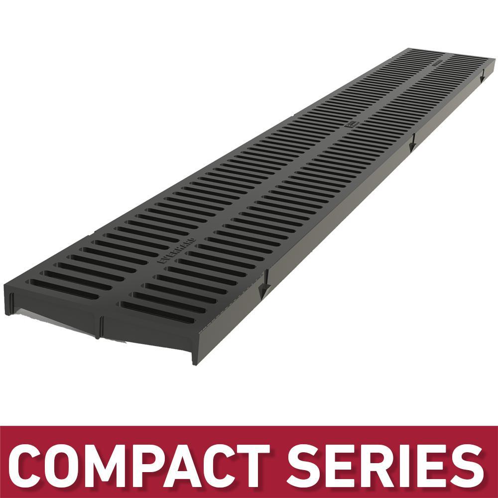U S Trench Drain Compact Series Black