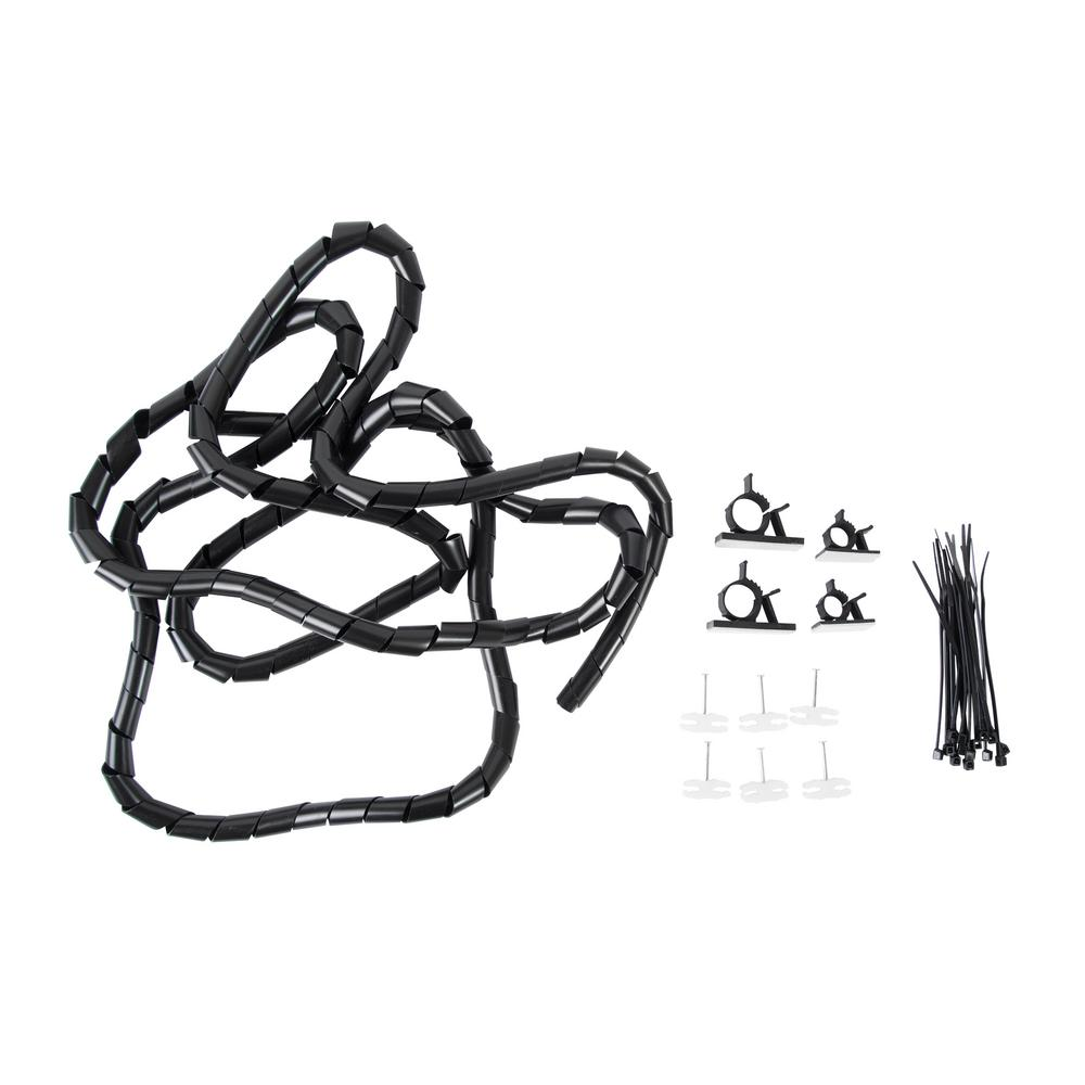 Wrap Pack Home Entertainment Cord Organizer Kit