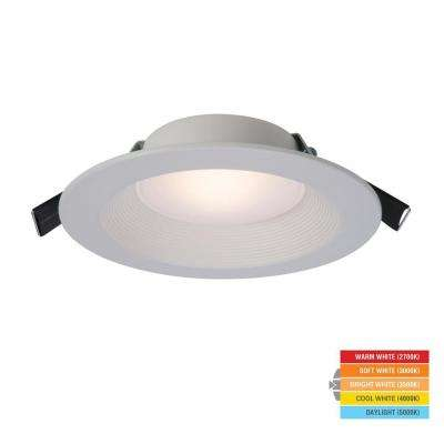 RL 5 in./6 in. 2700K-5000K White Remodel Recessed Integrated LED Direct Mount Kit with Selectable CCT