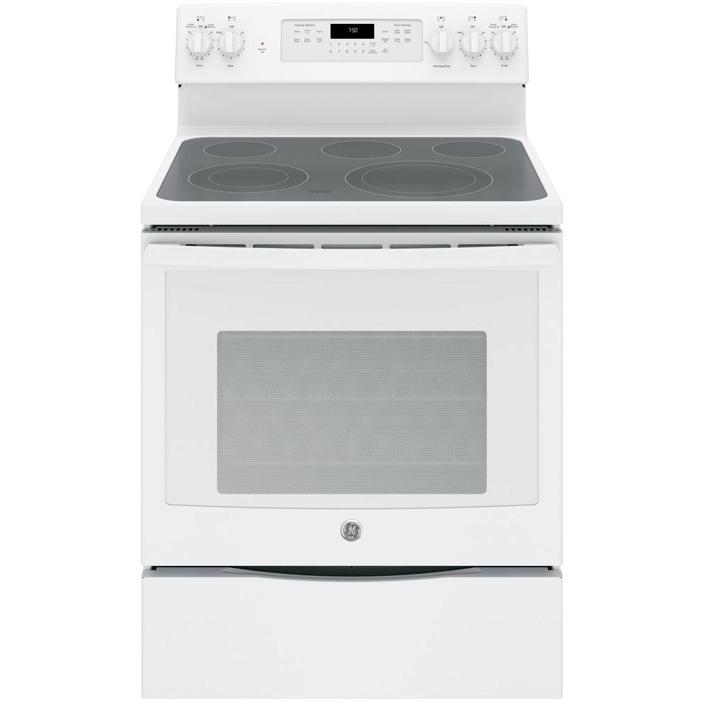 GE 53 Cu Ft Electric Range With Self Cleaning