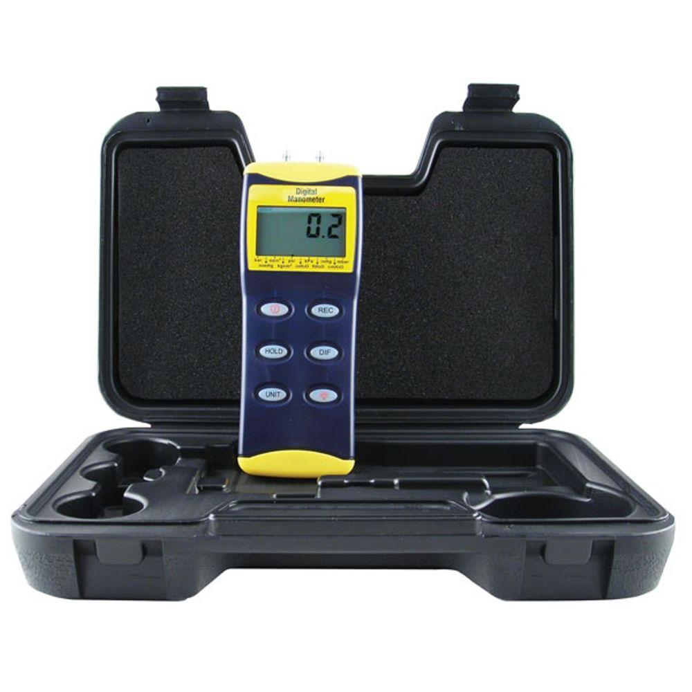 General Tools 36 in. Digital Manometer with Tubing