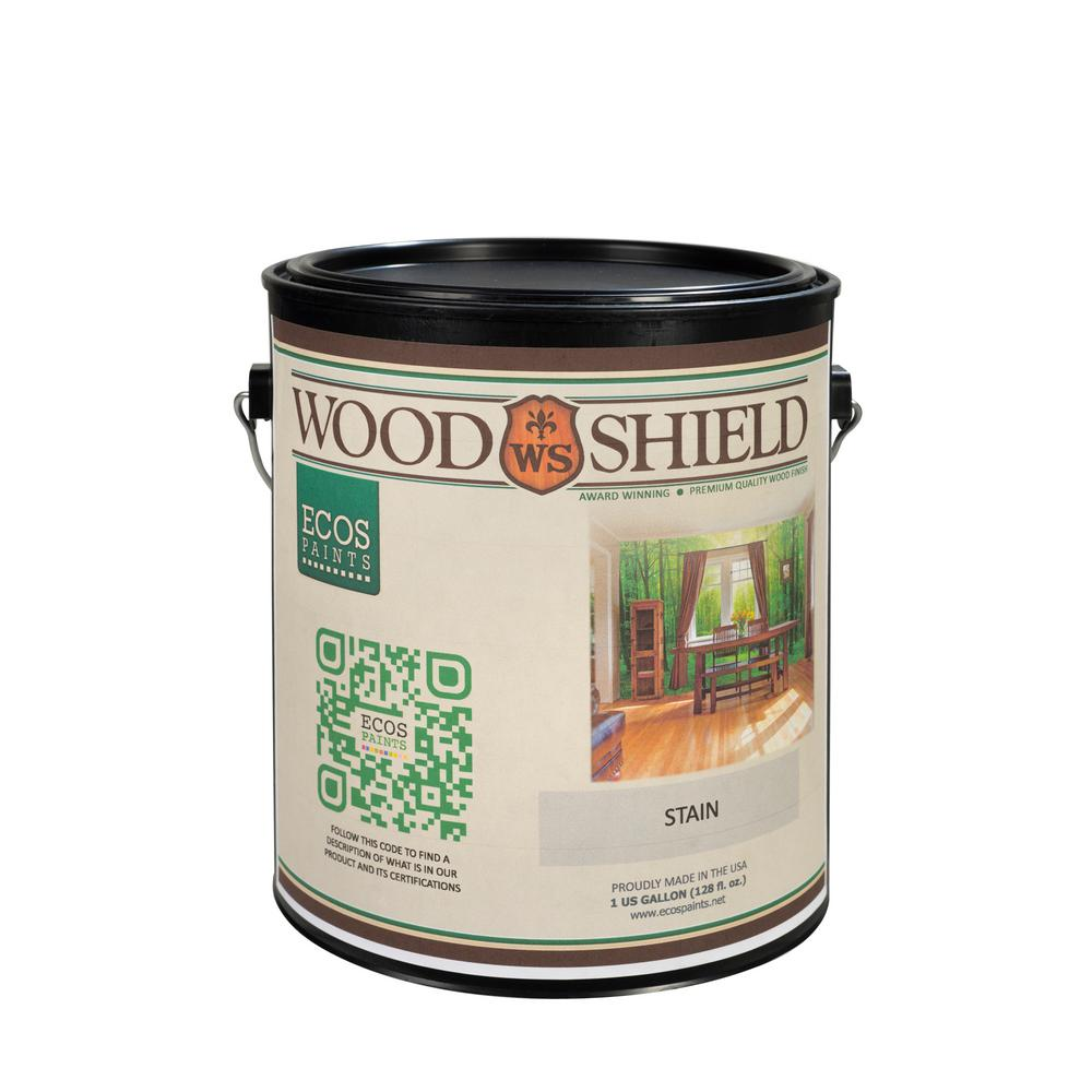1 gal. Deep Red Mahogany Ecos WoodShield Interior Stain, ...