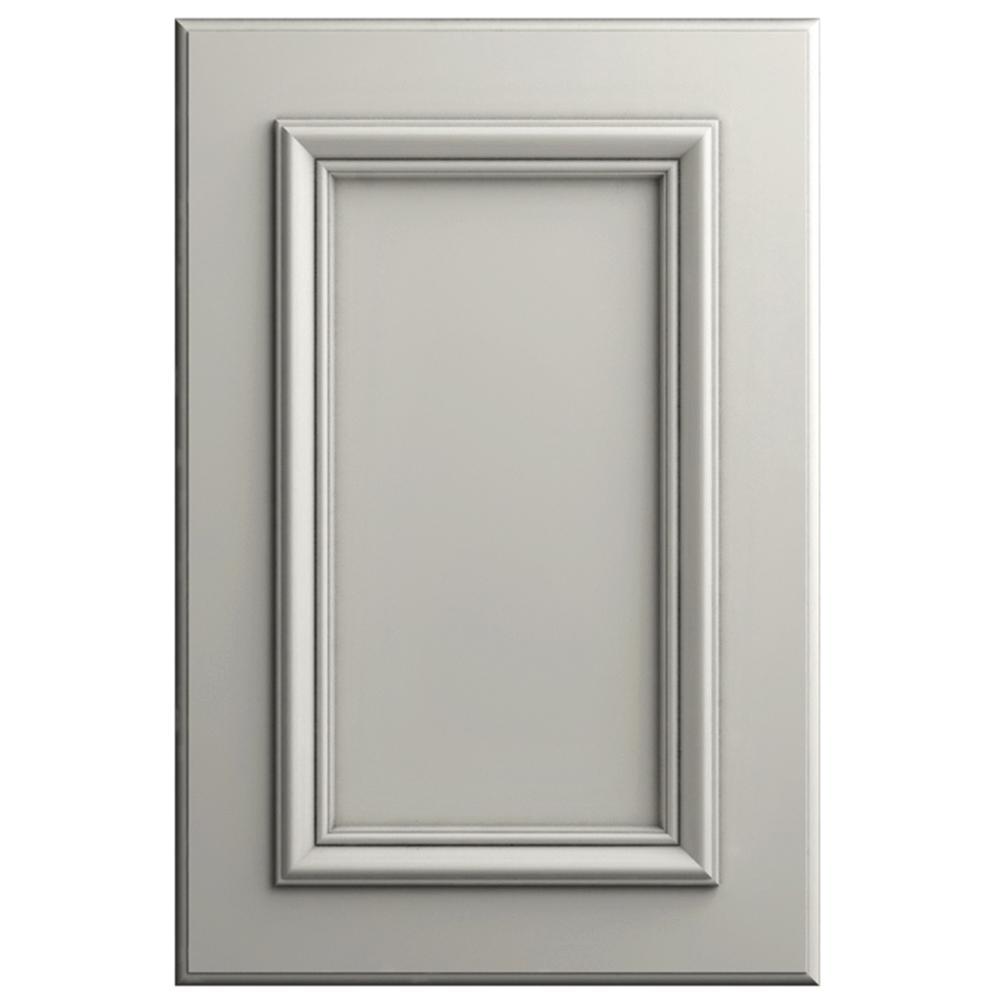 Hampton Bay 11x15 In Belleville Cabinet Door Sample In Linen Glaze Hbdssd Mqm 82pg The Home Depot