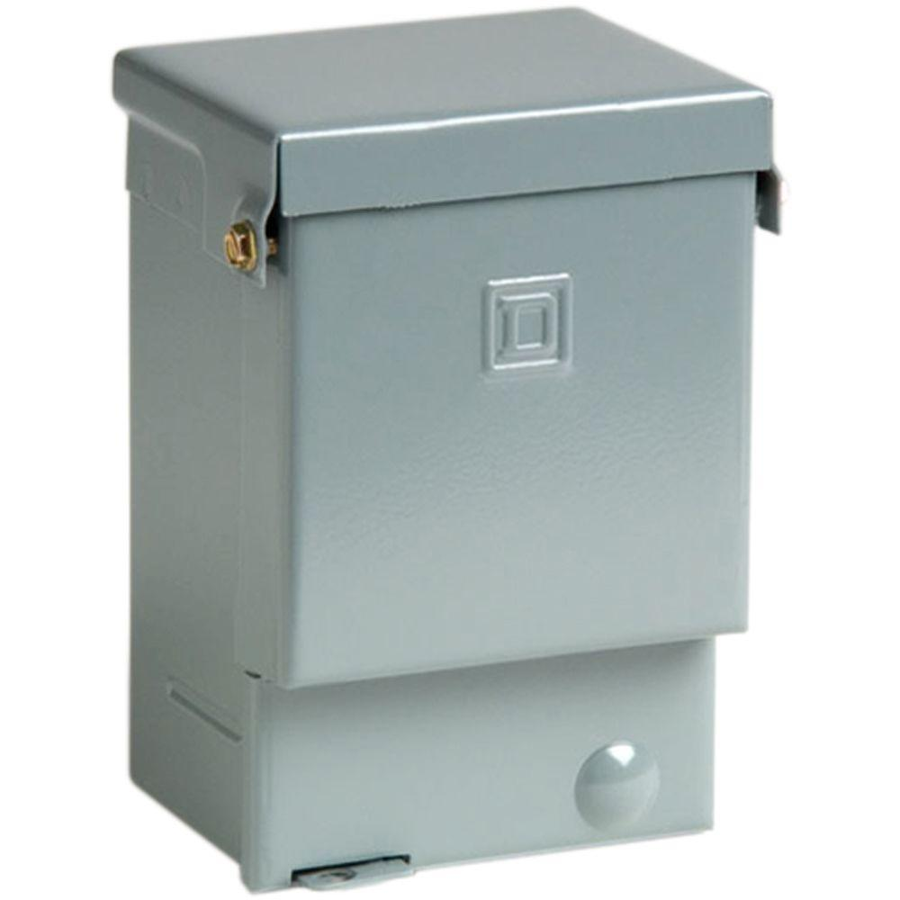 Square D QO 60 Amp 240-Volt 7.4 kW Non-Fuse AC Disconnect on