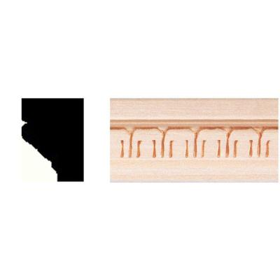 3/4 in. x 1 in. x 8 ft. Hardwood Cove Moulding