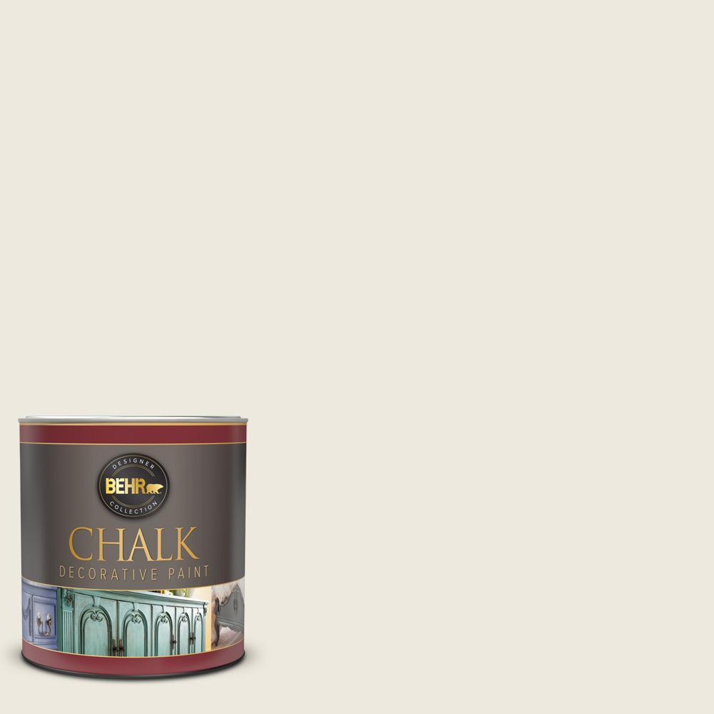 BEHR 1 qt. #BCP09 Farmhouse White Interior Chalk Decorative Paint