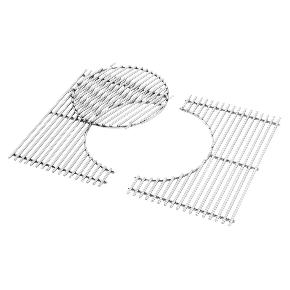 Gourmet BBQ System Replacement Cooking Grate and Insert for Spirit 300