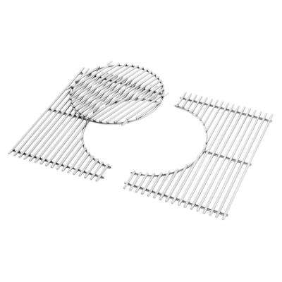 Gourmet BBQ System Replacement Cooking Grate and Insert for Spirit 300 Gas Grill