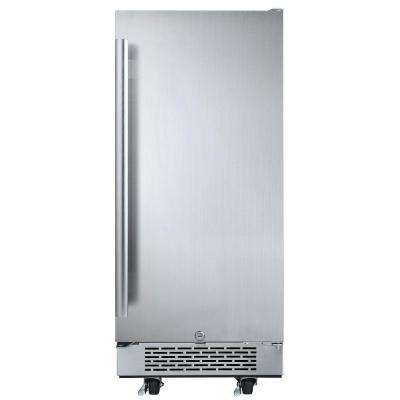 3.3 cu. ft. Built-in Outdoor Refrigerator in Stainless Steel
