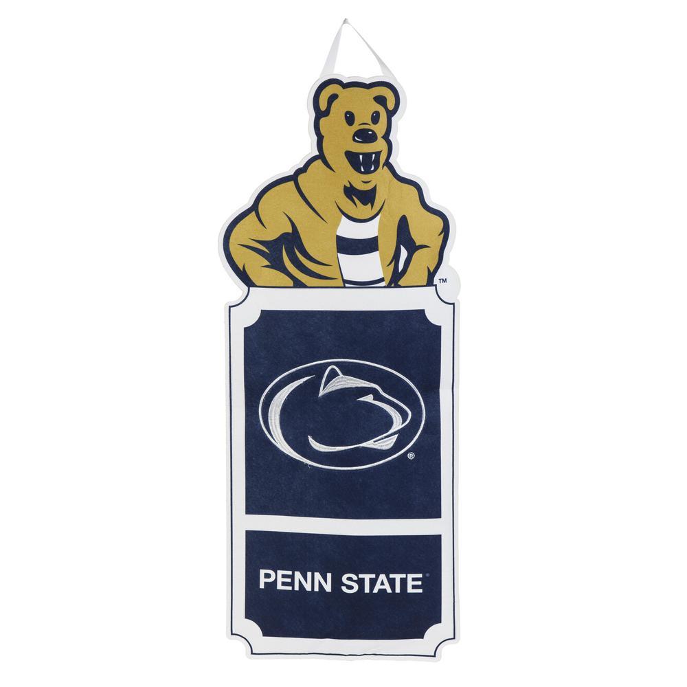 1-1/10 ft. x 3 ft.  Pennsylvania State University Statement Stake