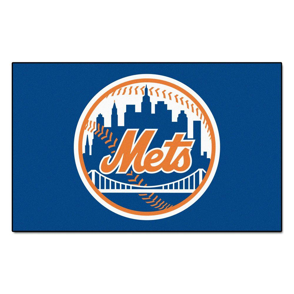 668283a3f115c FANMATS New York Mets 5 ft. x 8 ft. Ulti-Mat-6448 - The Home Depot