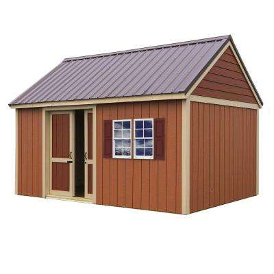 Brookhaven 10 ft. x 16 ft. Storage Shed Kit