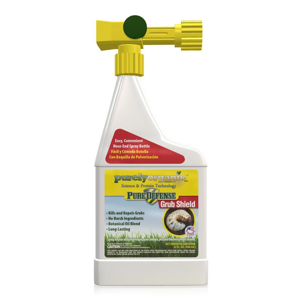 Purely Organic Products LLC Pure Defense 32 oz. Grub Shield Hose End Grub Killer