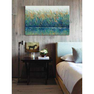 """40 in. H x 60 in. W """"Wildflower Reflection II"""" by Marmont Hill Printed Canvas Wall Art"""