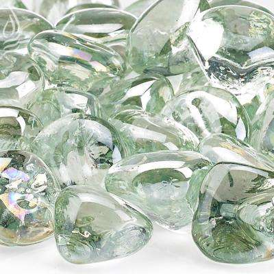 Rain Drop Luster Zircon Fire Glass 10 lbs. Bag