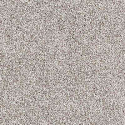 Carpet Sample - Tides Edge - Color Minnow Textured 8 in. x 8 in.