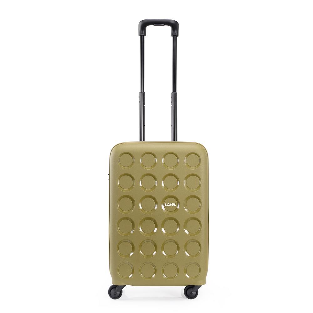 Vita 21.5 in. Olive Green Hardside Spinner Suitcase