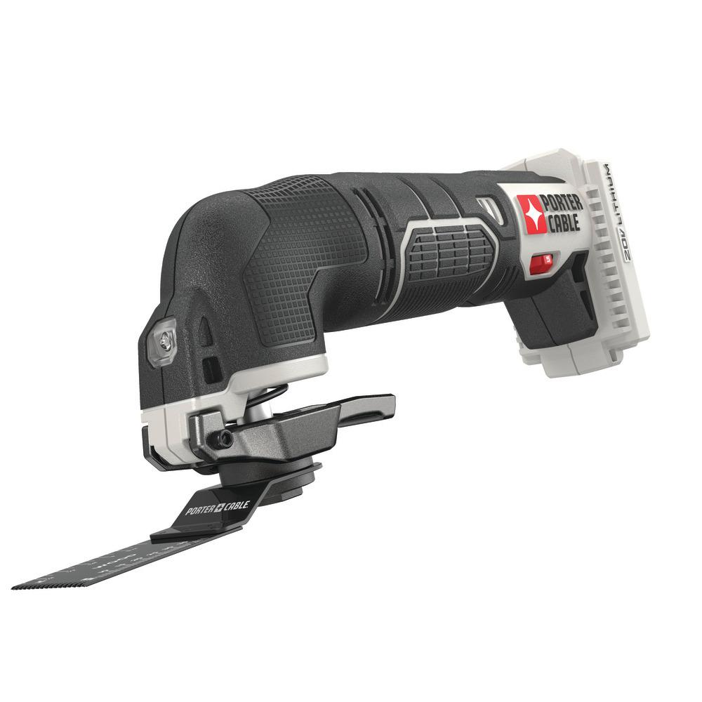 Porter Cable 20-Volt MAX Cordless Oscillating Tool - Tool Only