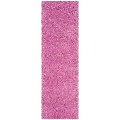 Fresh Synthetic - Bright - Pink - Area Rugs - Rugs - The Home Depot NL91