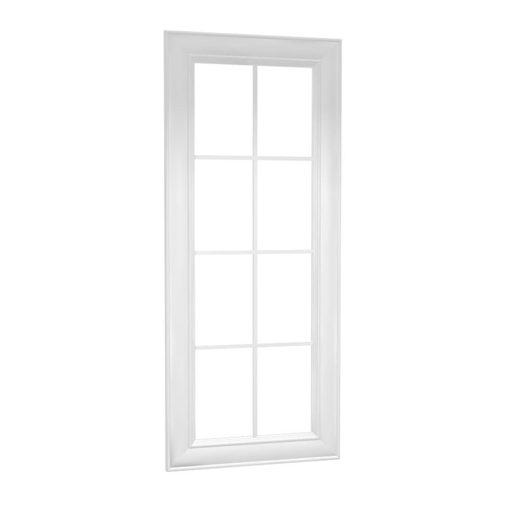 Brookfield Assembled 15 x 42 x 0.75 in. Wall Mullion Door