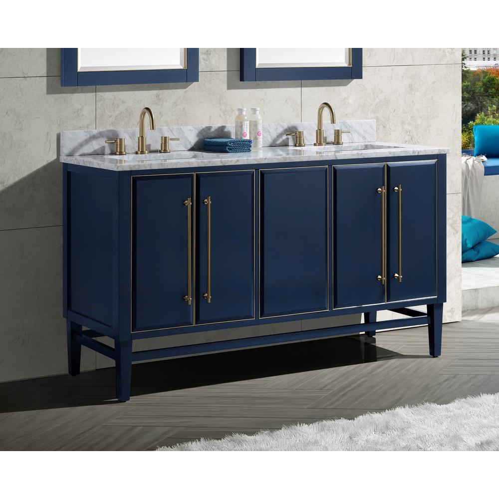 Can T Miss Bargains On Pelton 30 Single Bathroom Vanity Set Red Barrel Studio Base Finish Navy Blue