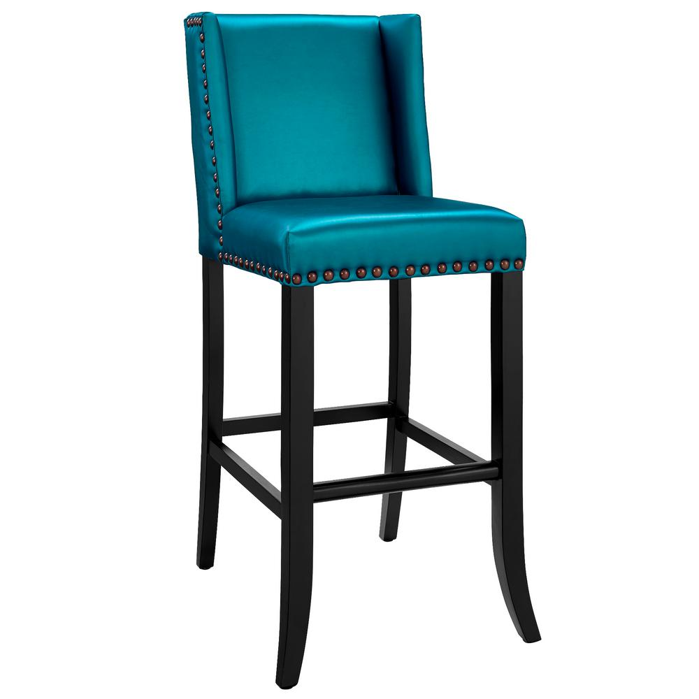 blue bar stools tov furniture denver blue bar stool tov bs13 the home depot 29684