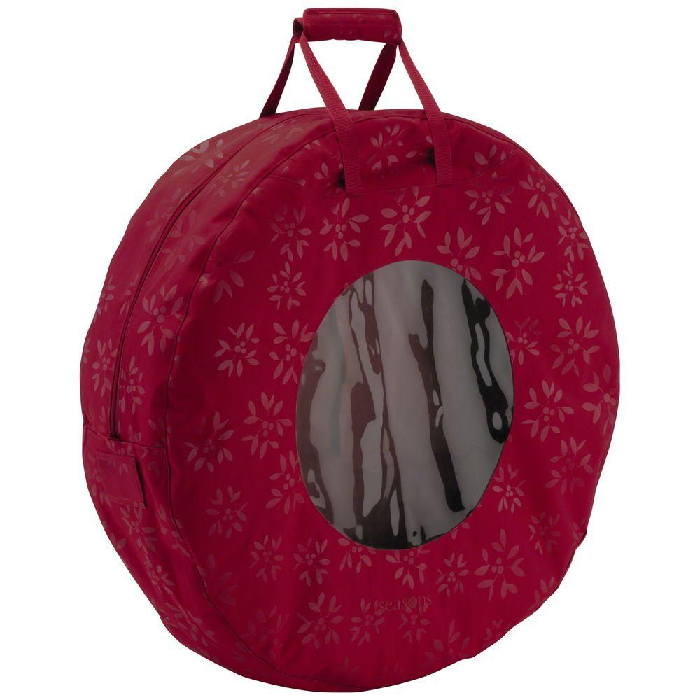 Classic Accessories Seasons Wreath Storage Bag, Large