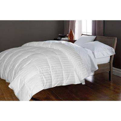White Goose Down and Feather 50 and 50 King Comforter