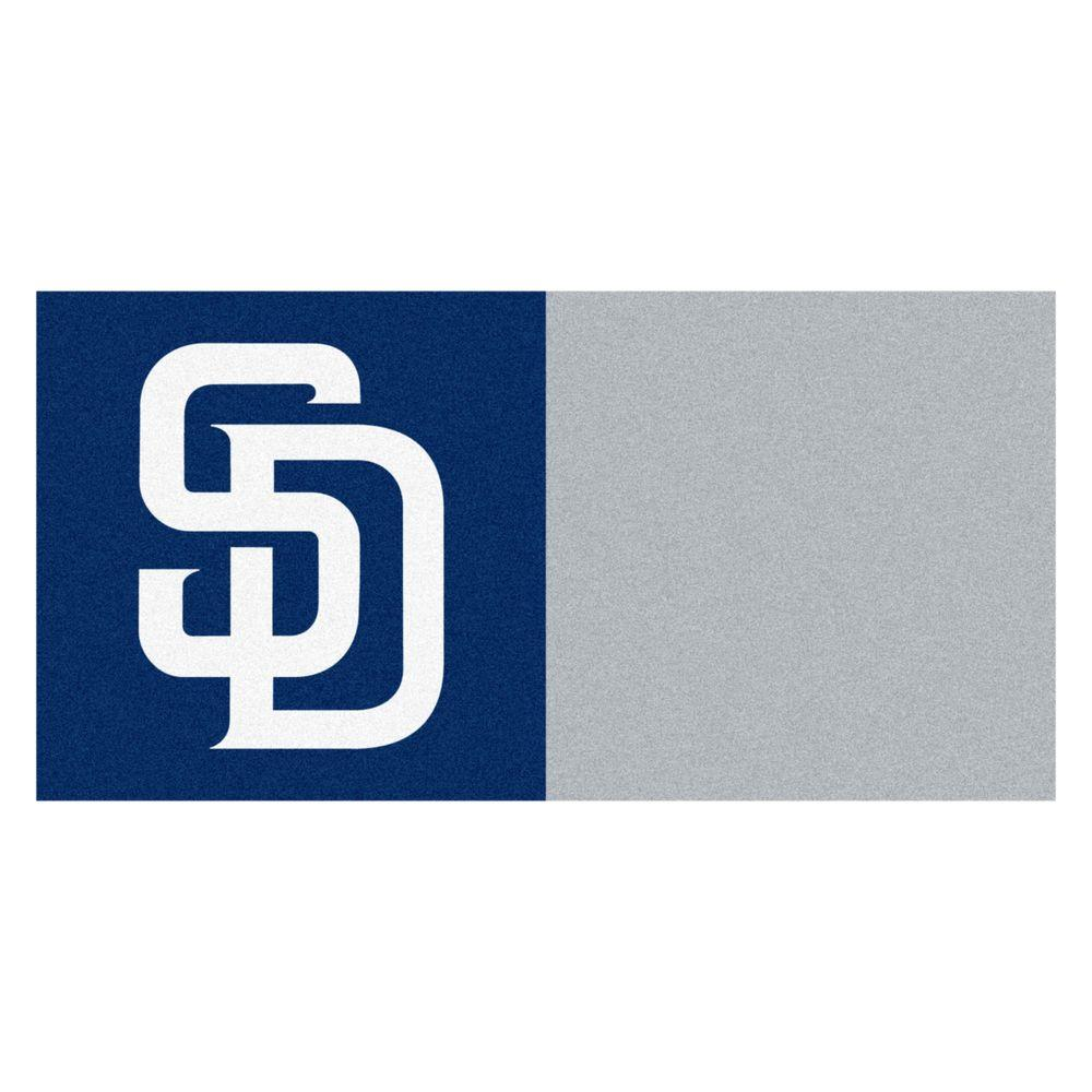 MLB - San Diego Padres Blue and Gray Nylon 18 in.