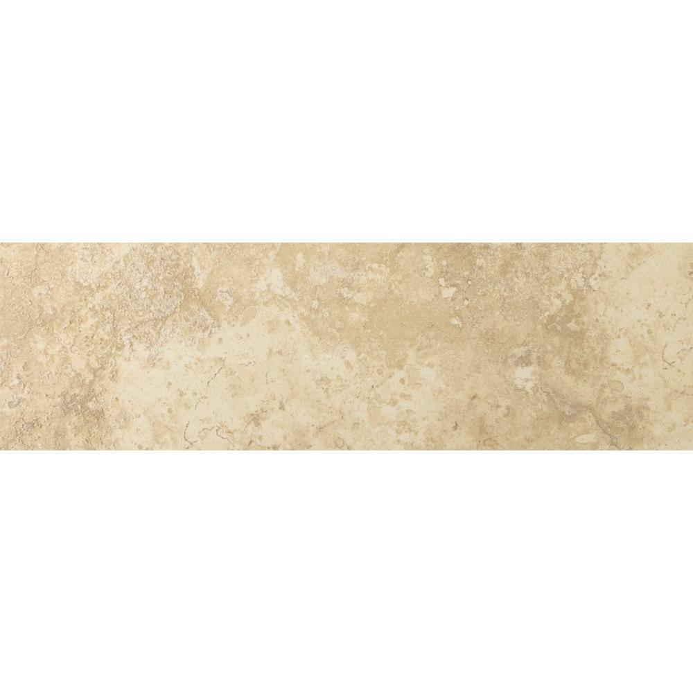 Emser Lucerne Alpi 3 in. x 13 in. Single Bullnose Porcelain Floor and Wall Tile