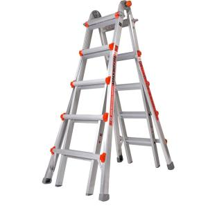 Little Giant Ladder Systems Super Duty 22 ft. Aluminum Multi-Position Ladder with 375 lb. Load Capacity Type... by Little Giant Ladder Systems