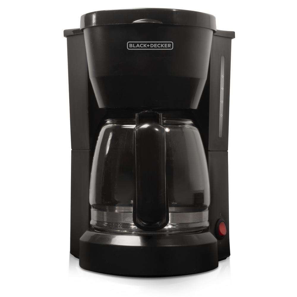 5-Cup Coffee Maker, Black