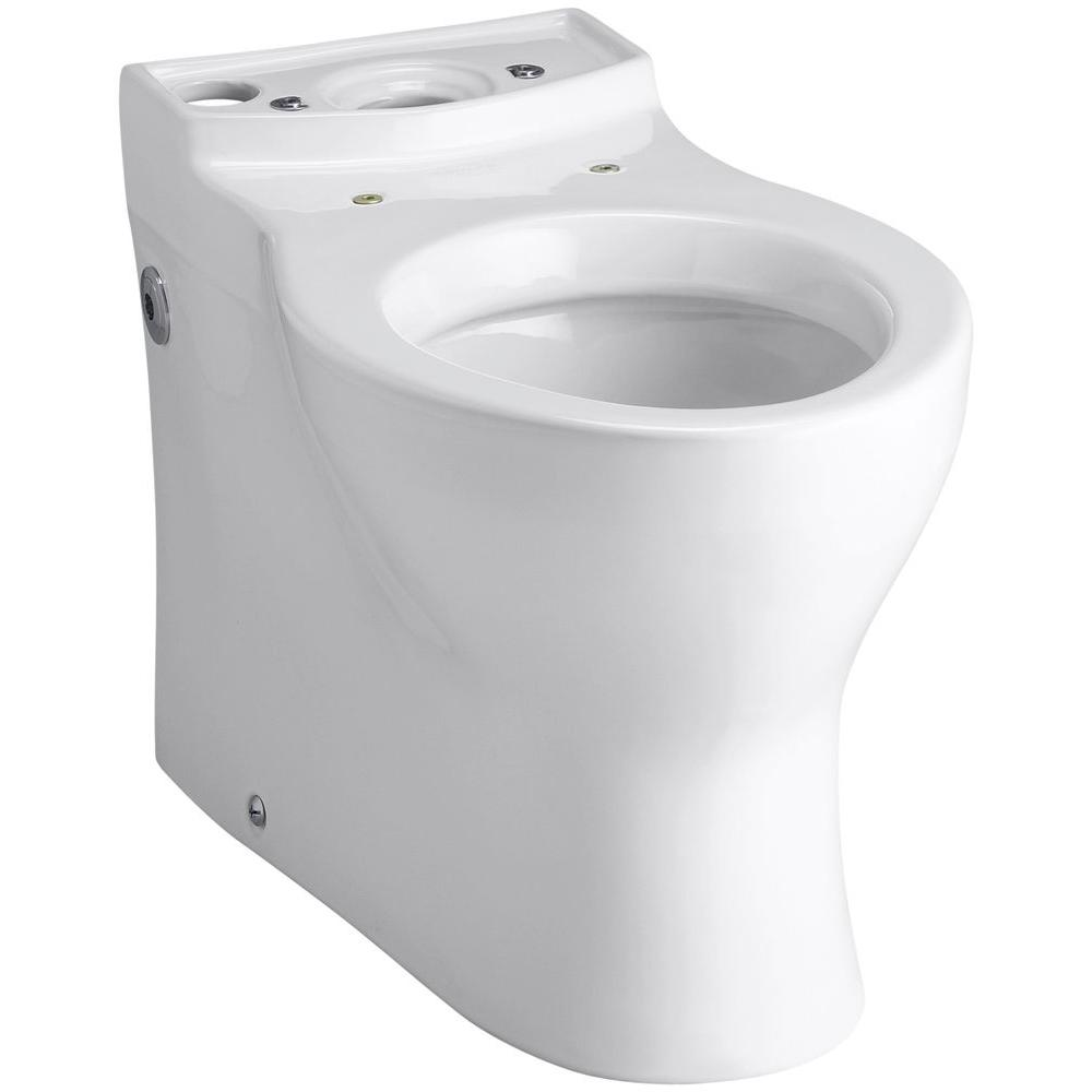 Persuade Elongated Toilet Bowl Only in White