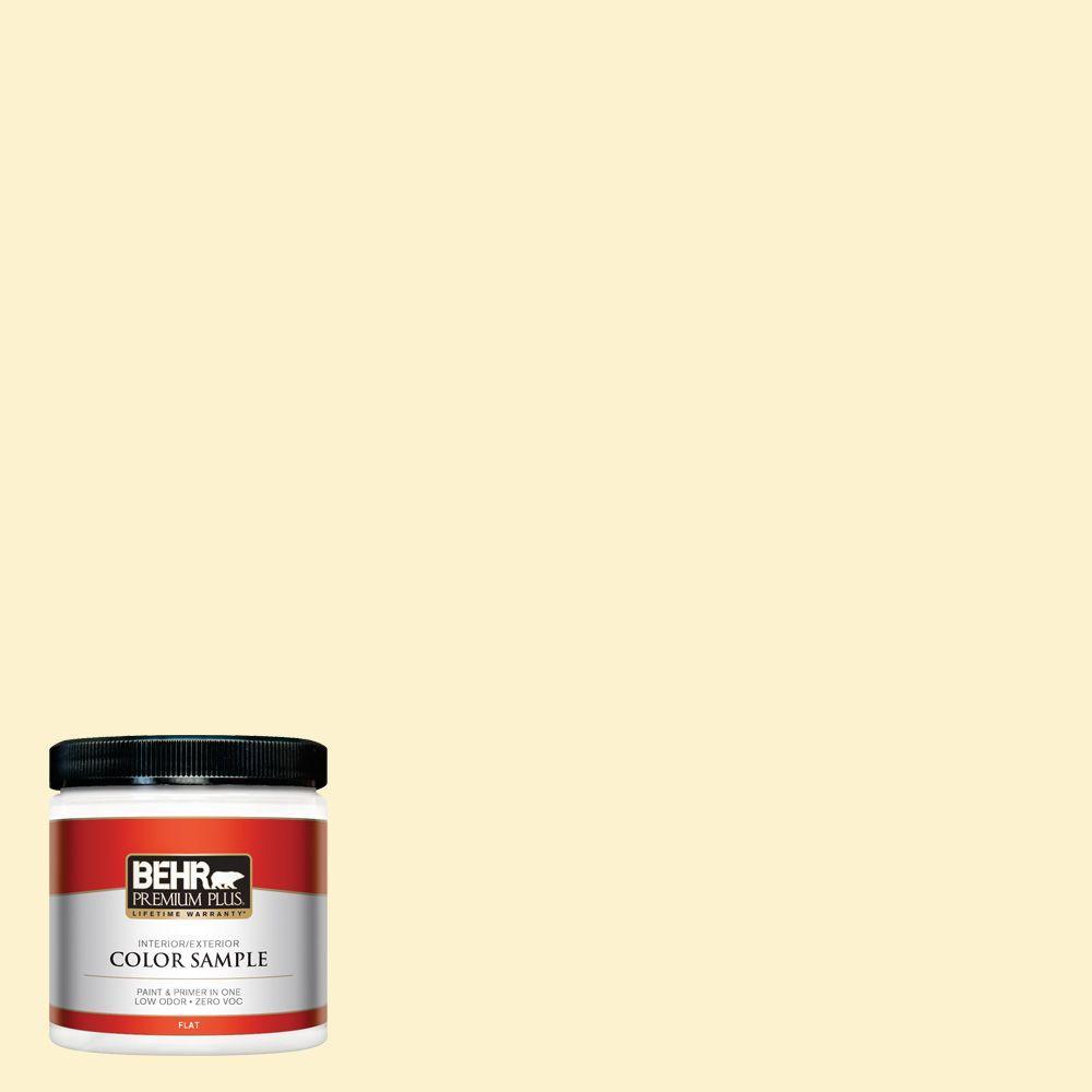 BEHR Premium Plus 8 oz. #380C-2 Desert Lily Interior/Exterior Paint Sample