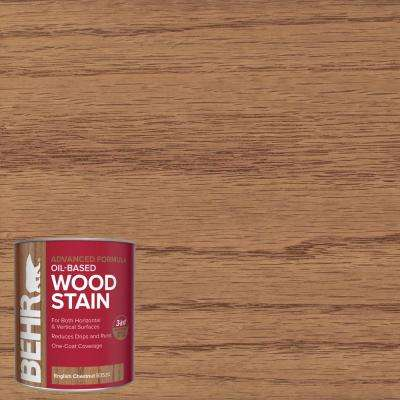 1 qt. #TIS-520 English Chestnut Transparent Oil-Based Advanced Formula Interior Wood Stain