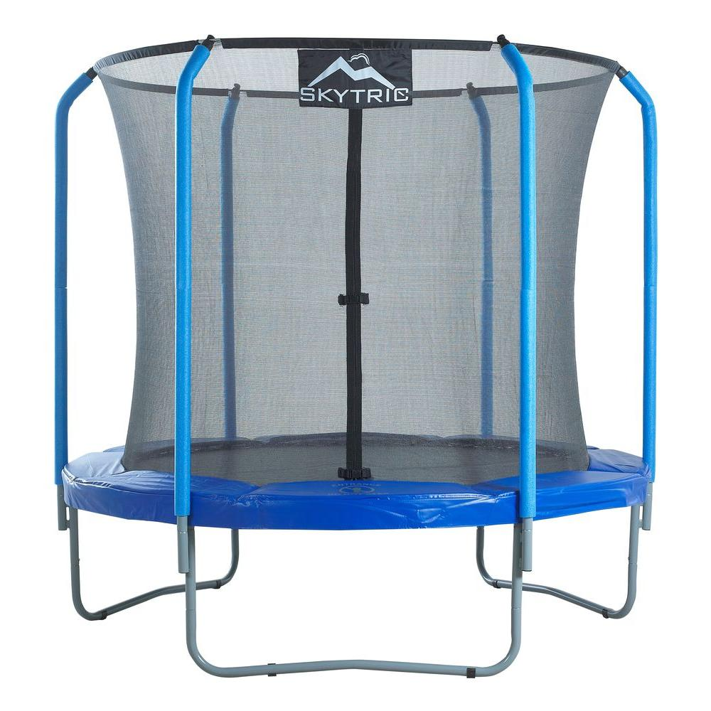 Upper Bounce 8 ft. Trampoline with Top Ring Enclosure System