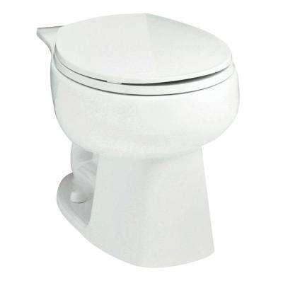 Windham Round Toilet Bowl Only in White