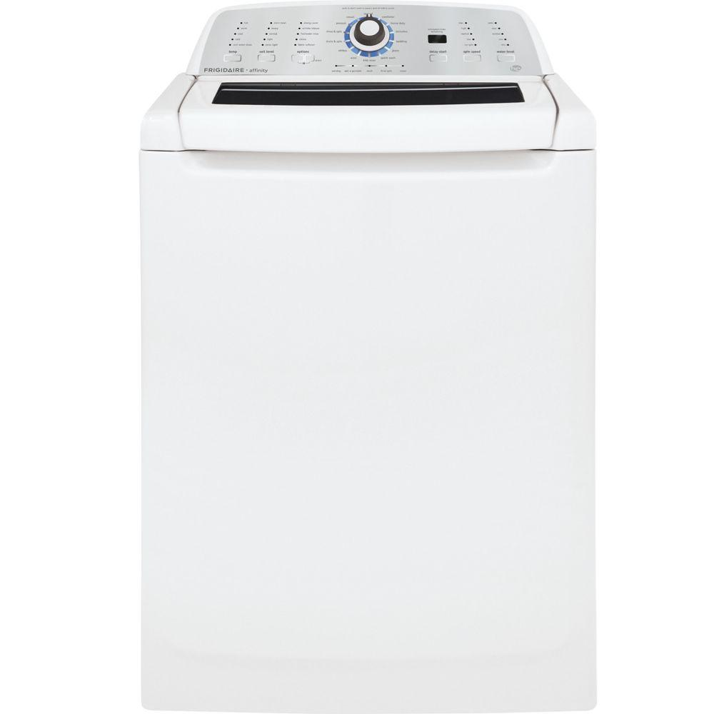 Frigidaire Affinity 3.4 cu. ft. High-Efficiency Top Load Washer in White, ENERGY STAR