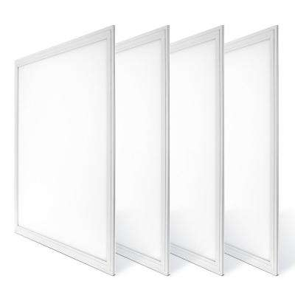 2 ft. x 2 ft. White Integrated LED Dimmable Edge Lit Panel, 4000K (4-Pack)